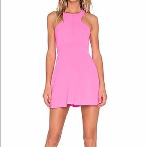 Revolve NBD X NAVEN TWINS BELIEVE ME SKATER Dress